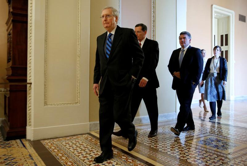 Senate Republican leader McConnell embraces Trump's immigration plan: