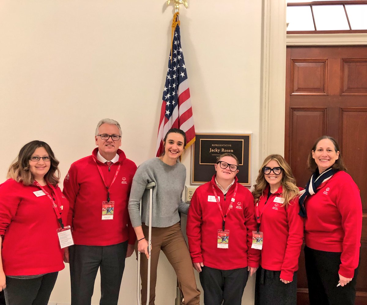 Our @SONevada delegation led by athlete leader Grayson Guild! #SOHillDay https://t.co/sazDysGFxs