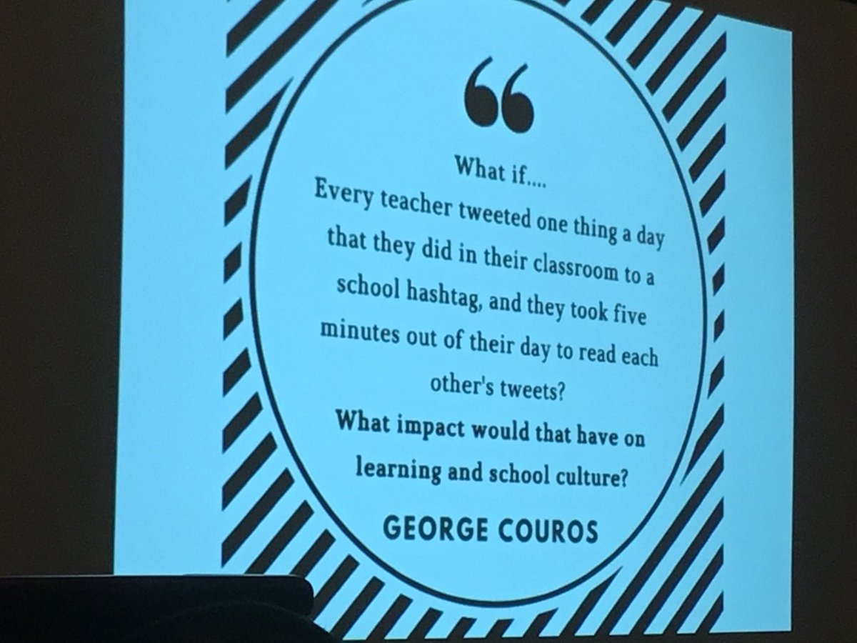 Social media to promote school culture. @BethHouf at #metc18 happening now. https://t.co/2e2gfacUJX