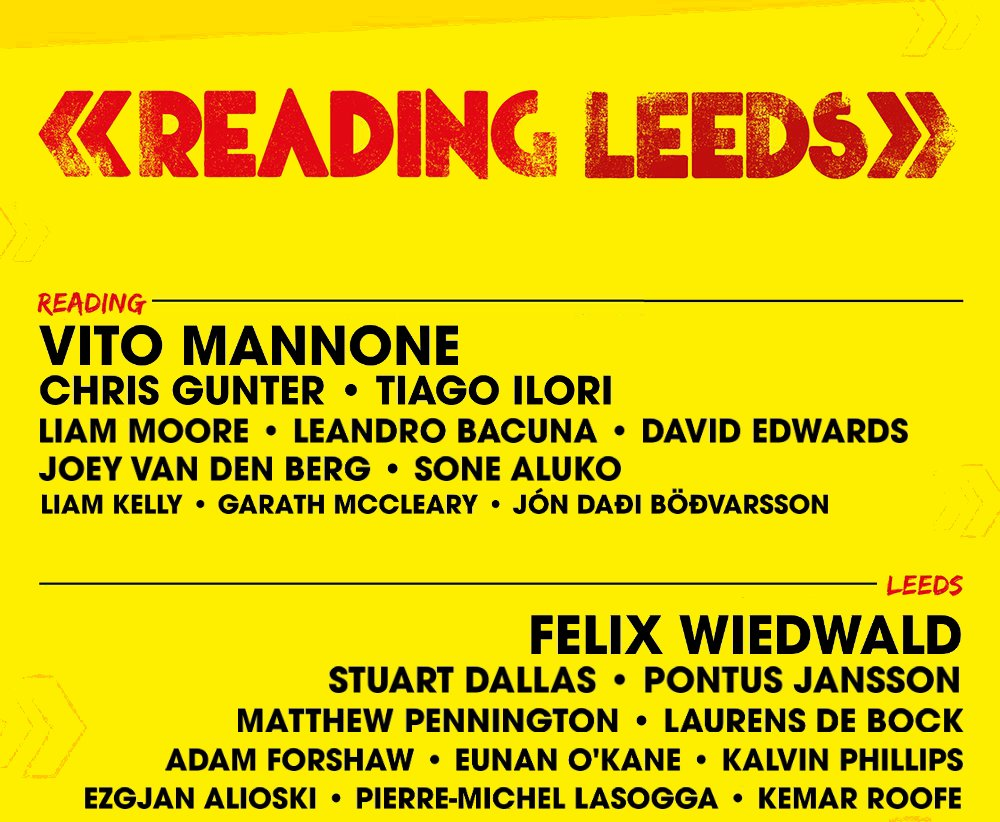 RT @JonnyGabriel: Just seen the Reading and Leeds line-up. https://t.co/E564neCadY