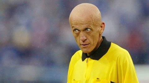 You didn\t f*** with this guy. Happy birthday Pierluigi Collina!