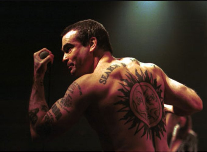 Henry Rollins. Legend back in the 80s, a legend today. Happy birthday