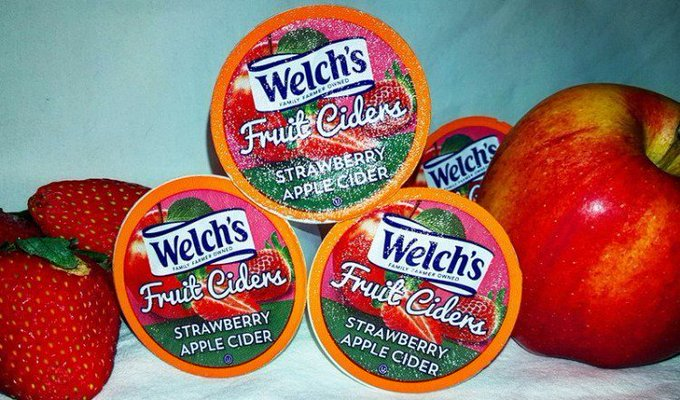 Welch's Fruit Ciders K-Cup Giveaway Ends 2/27