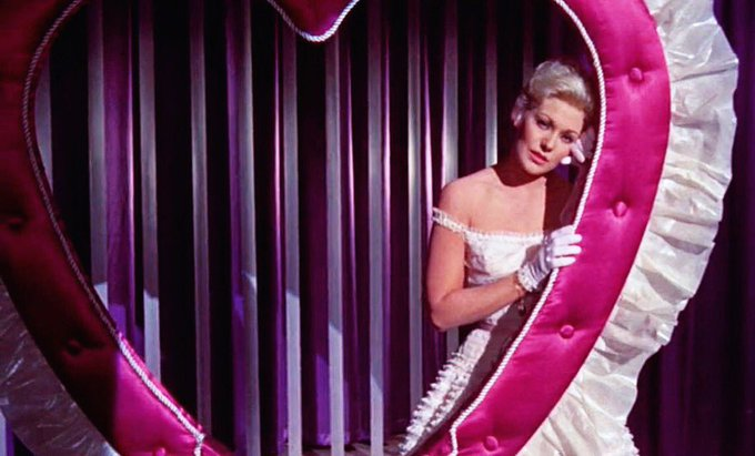 Divine Kim Novak singing My Funny Valentine in Pal Joey. Happy birthday to her.