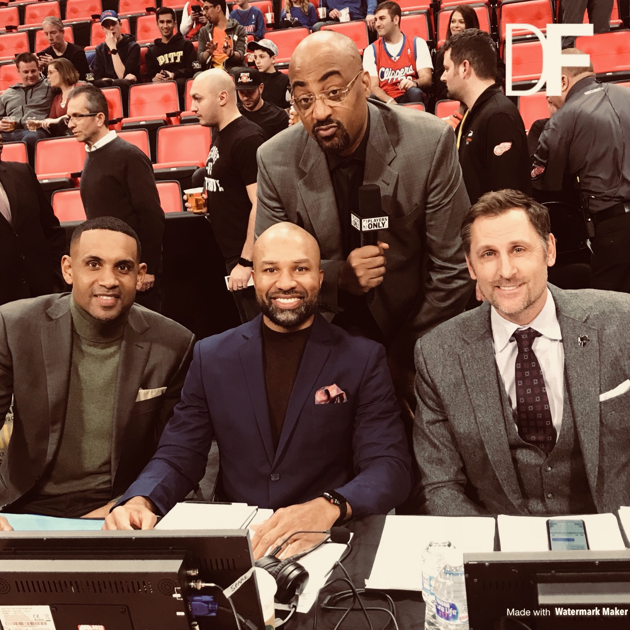 Back with this crew tonight on @nbaontnt for @cavs and @okcthunder in Oklahoma City! 8 p.m. ET #PlayersOnly Baby! https://t.co/YAYMjBI41r