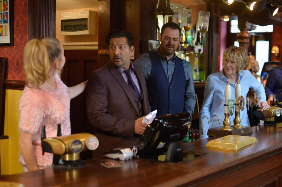 EastEnders spoilers: Mick Carter returns to find the Queen Vic is being used by drug dealers