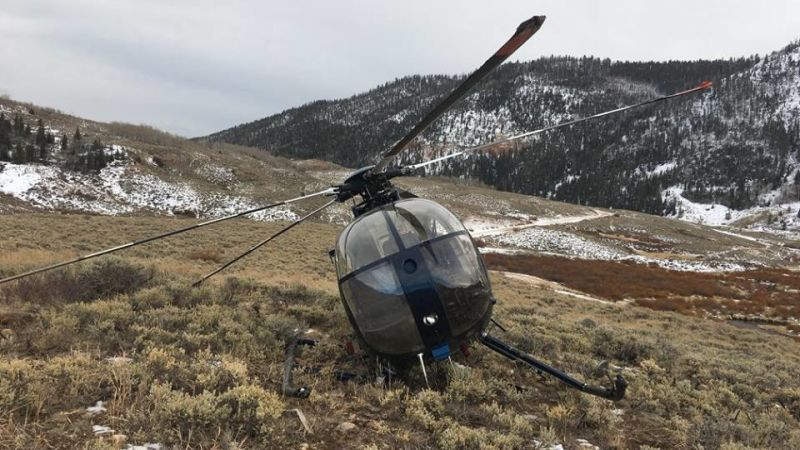 Elk strikes blow against its natural enemy, the helicopter https://t.co/i2zd9y1KKf https://t.co/E437OrpXsO