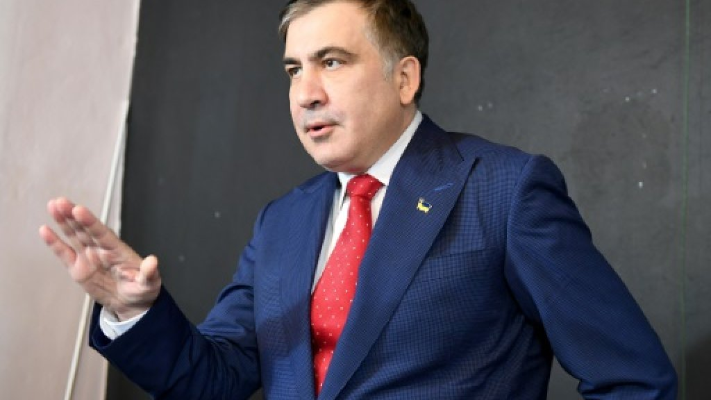 Saakashvili says counting on supporters for Ukraine return