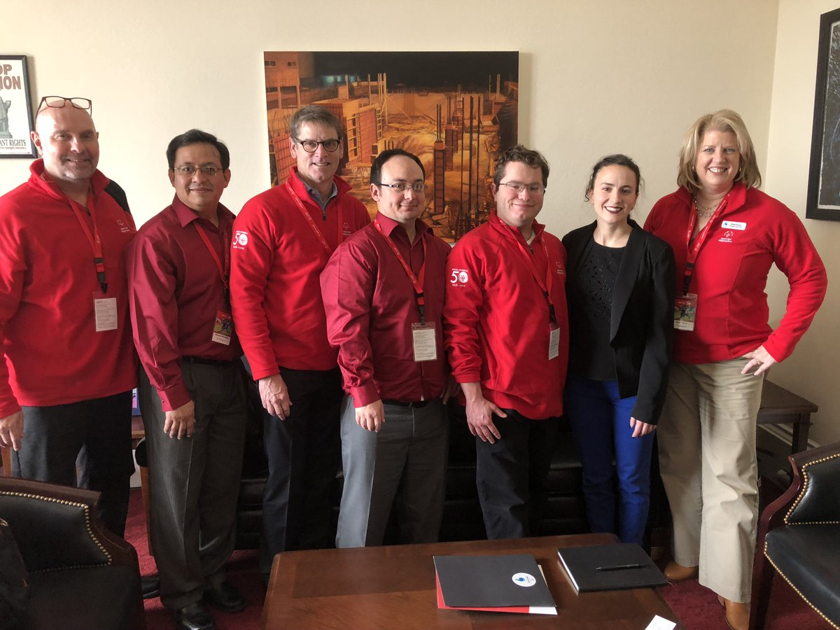 Next up: the @SO_Washington & #2018USAGames teams met with Katy Nazaretova in @RepRickLarsen's office to advocate for the life-changing work of @SpecialOlympics. #SOHillDay https://t.co/1HtKoXk2H7