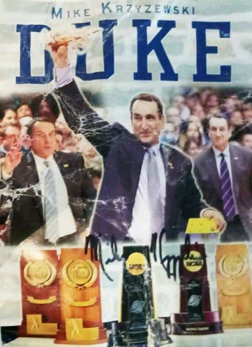 Happy birthday to the legendary Mike Krzyzewski of who turns 71 today. Enjoy your day Coach K!