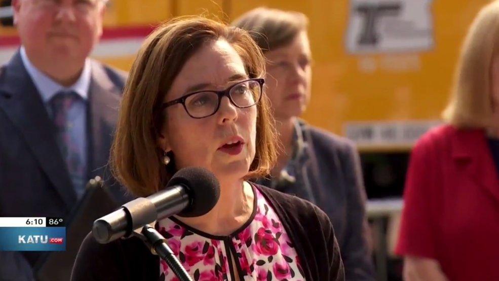 Oregon Gov. Kate Brown declares addiction a public health crisis