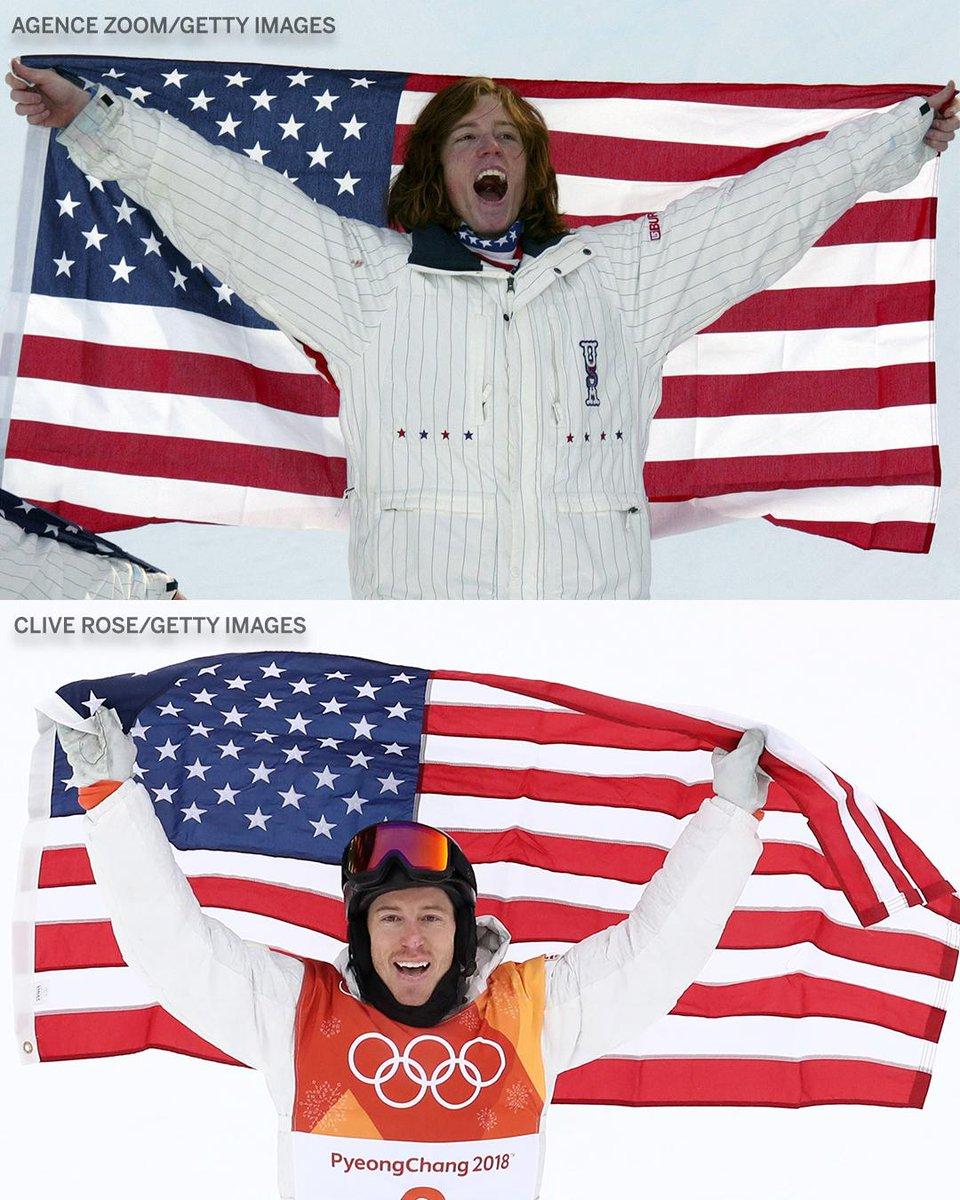 RT @espn: 12 years ago, Shaun White won his first Olympic gold medal.  Tonight, he won his third. https://t.co/pVWAudGOGJ