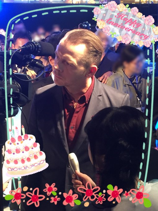 Happy Birthday,Simon Pegg       48                                               M:I6