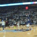 URI basketball fans participate in teddy bear toss for sick children