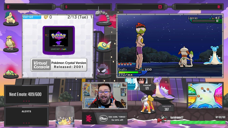 ��LIVE!   Lapras SOS & Pokemon Crystal [VC] Nuzlocke! Come hang out!  https://t.co/DOCh7z80U4 https://t.co/Ez0KskH7J3