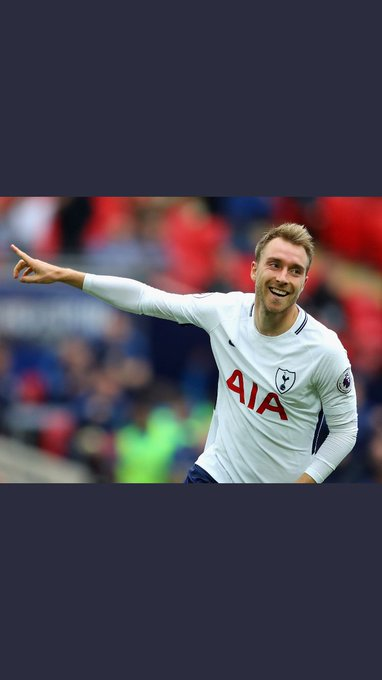 Happy Birthday to the main man Christian Eriksen have a fab day