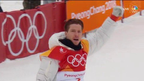 SHAUN WHITE IS NOT HUMAN. #BestOfUS #WinterOlympics https://t.co/r5PfUbeROr https://t.co/6MmQiSZGRh