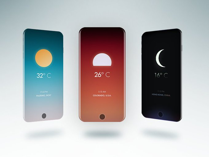 Weather App by andreisimion777 freebie