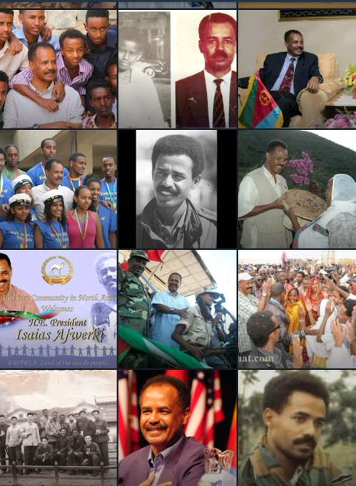 Happy 72nd Birthday to President Isaias Afwerki of
