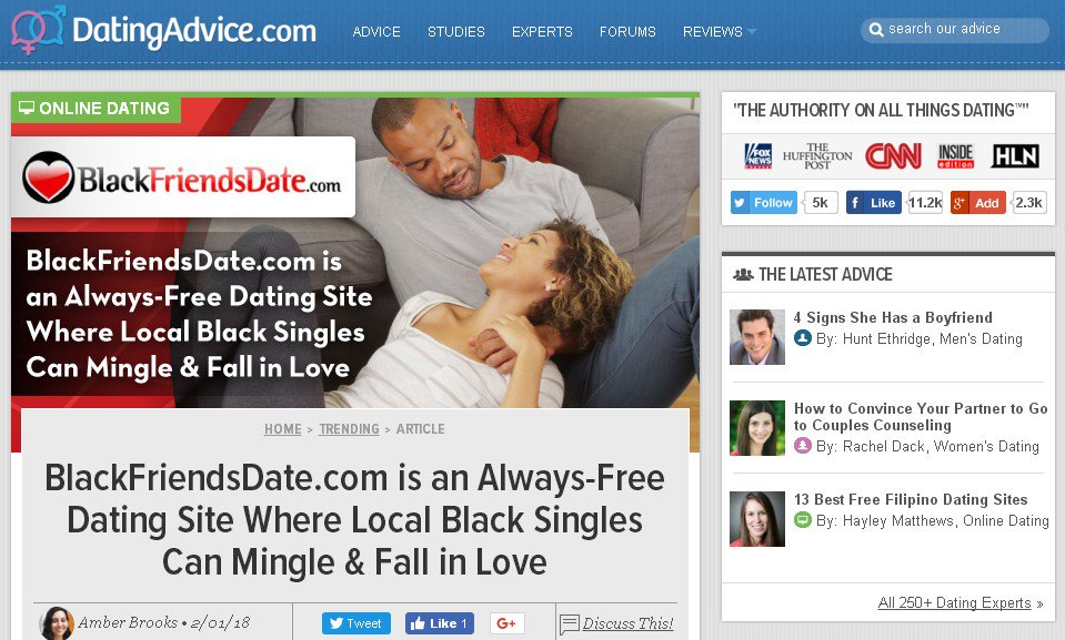 Top free dating sites for black singles