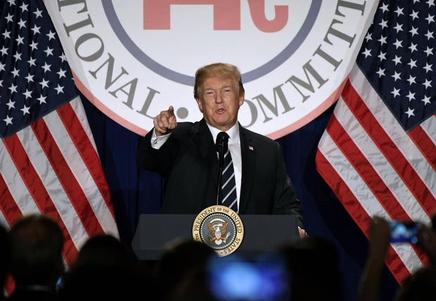 Trump accuses FBI, Justice Department of politicizing probes