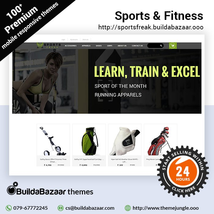 test Twitter Media - Select from the best Sports & Fitness themes available at #themejungle and delights all the sports enthusiasts with your website.  #infibeam #buildabazaar #buildabazaarthemes #ecomercethemes #websitethemes https://t.co/YPozYMUaim https://t.co/a5RSYtbMy3