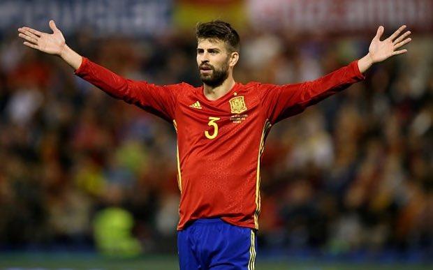 Feliz cumpleaños//Happy Birthday to Spanish player Gerard Piqué!!