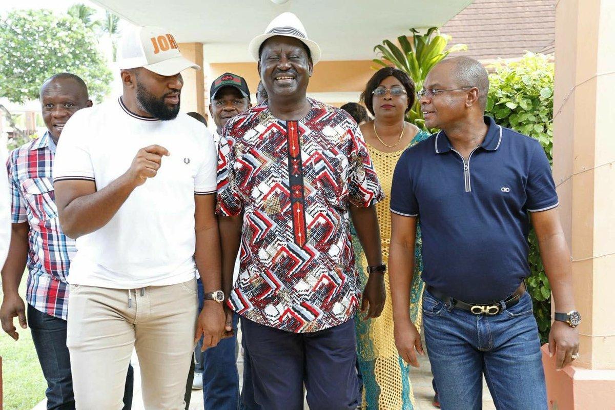 Joho, Kingi official bodyguards withdrawn after Raila swearing