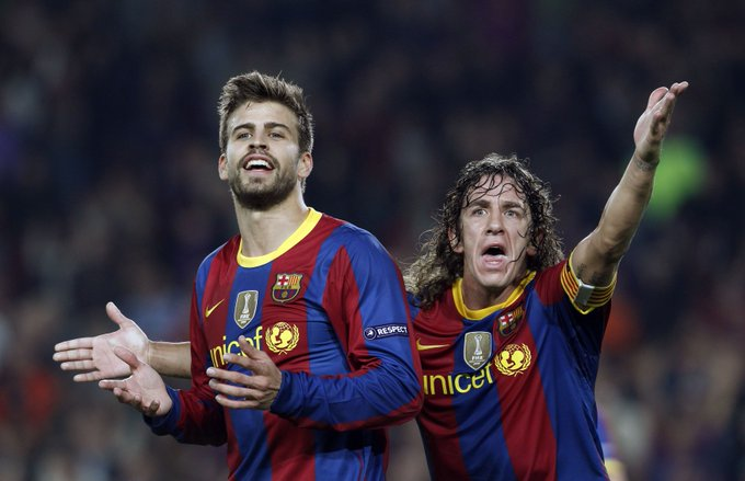 Happy Birthday Gerard Piqué  Where do these two rank in the all-time best centre-back partnerships?