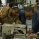 President Kenyatta directs uniforms of security forces to be made at NYS Institute