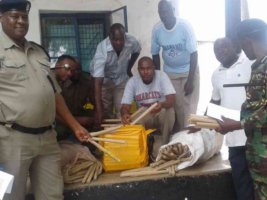 Bhang with Sh597,600 street value seized in Lamu town