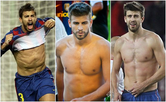 Happy birthday Gerard Piqué! The footballer\s hottest moments: