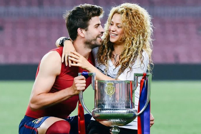 Happy birthday Gerard Piqué and Shakira