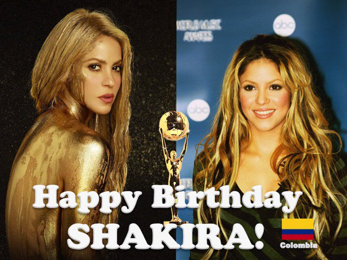 Happy Birthday to the very talented and beautiful World Music Awards Multiple Winner!