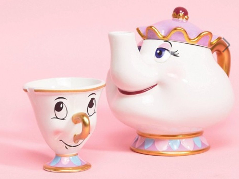 Disney Fans, ASOS Is Selling An Actual Mrs Potts And Chip Tea Set
