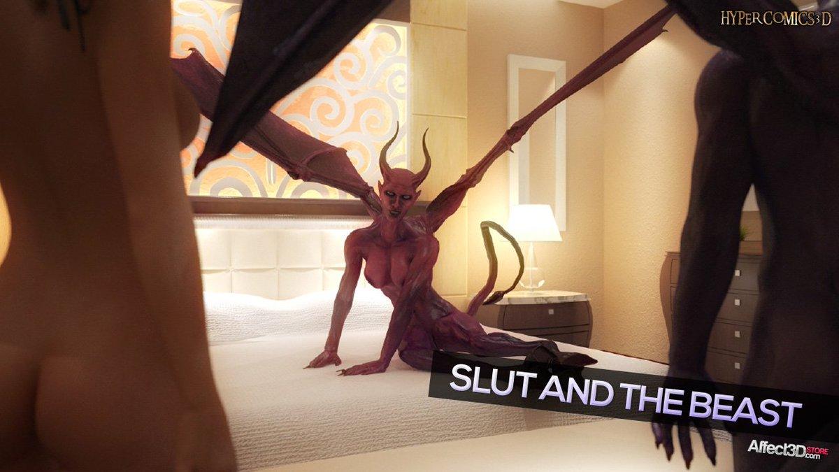 3 pic. Another creepy, sexy monster release from HyperComics3D =) #Sex #hentai #nsfw #3d UZ8LrNNC4C