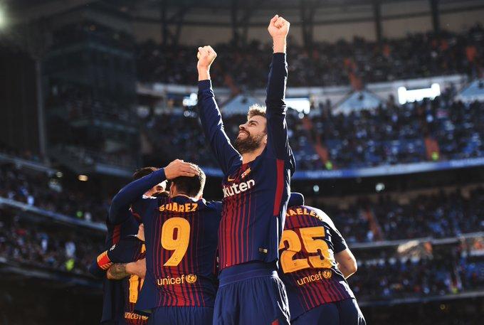 Barcelona star Gerard Pique Celebrates His 31st Birthday  via