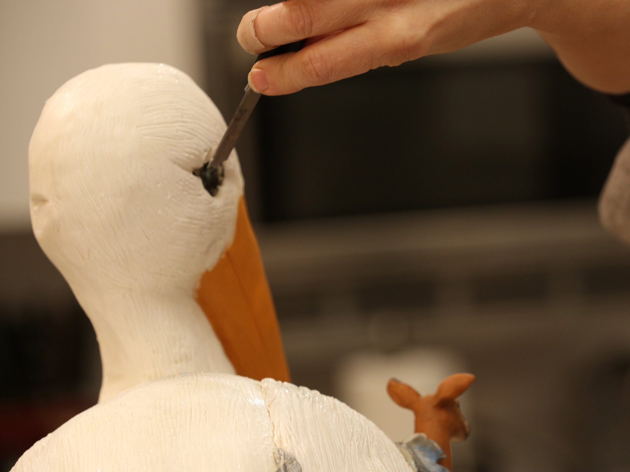 Look at the detail on this stork cake! #RidiculousCakes https://t.co/3gWauEUnNd