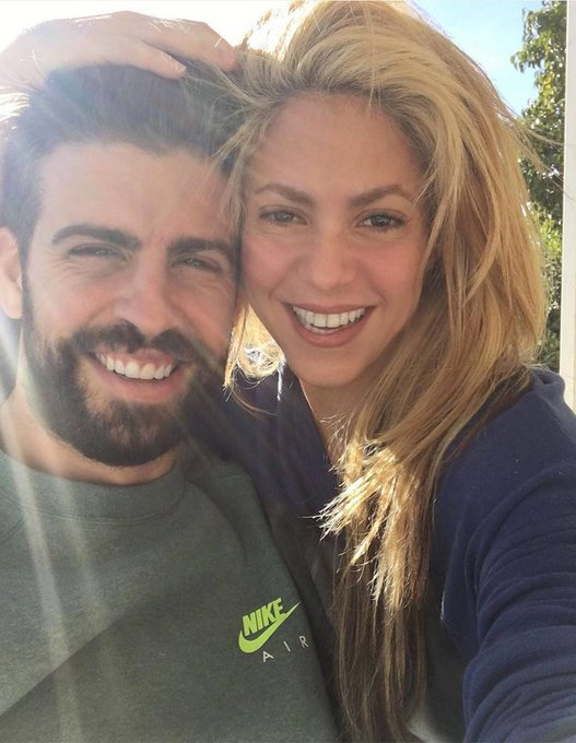 Happy birthday to not only Shakira, but also her husband Gerard Piqué!