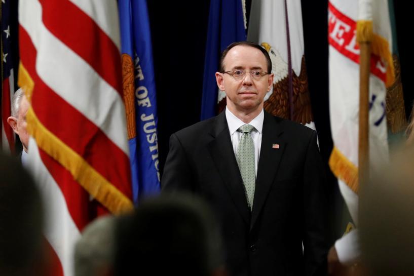 Congressional Democrats warn Trump against firing Rosenstein