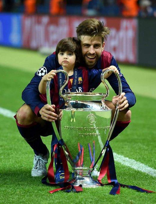 24 trophies in 10 years Barcelona. 30 trophies in total! Happy Birthday Gerard Piqué!