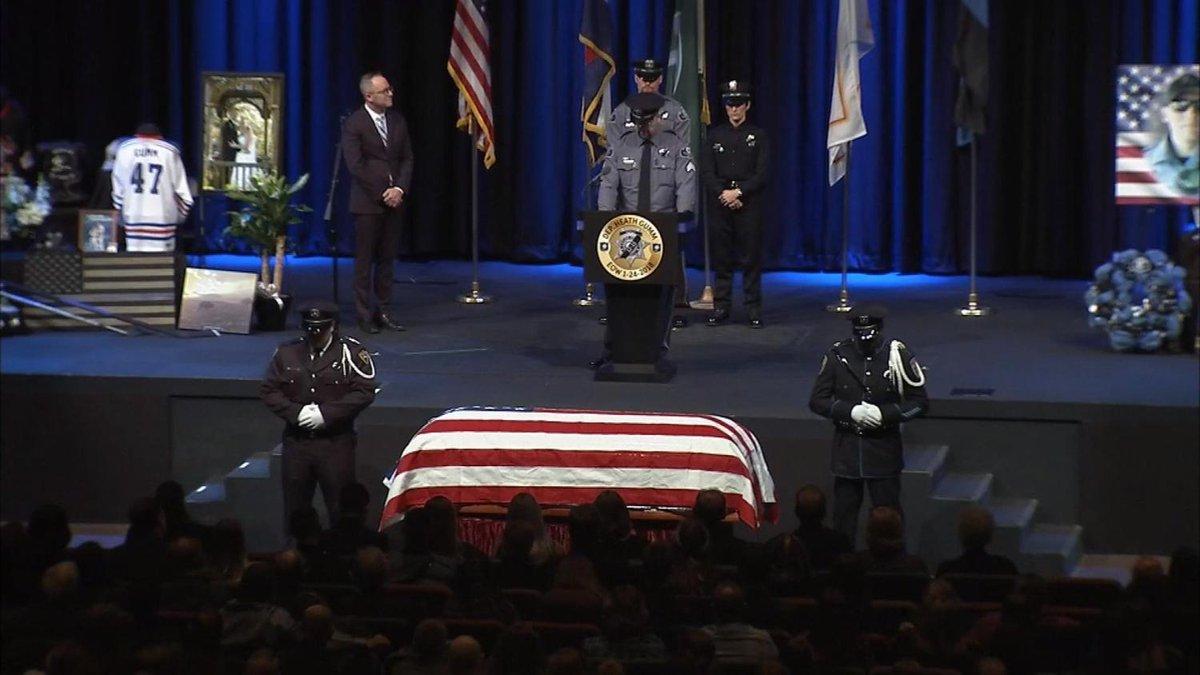 Fallen Deputy Gumm Remembered In EmotionalService