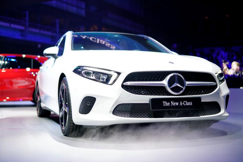 'Hey Mercedes' - Daimler takes on Silicon Valley with hi-tech A-Class