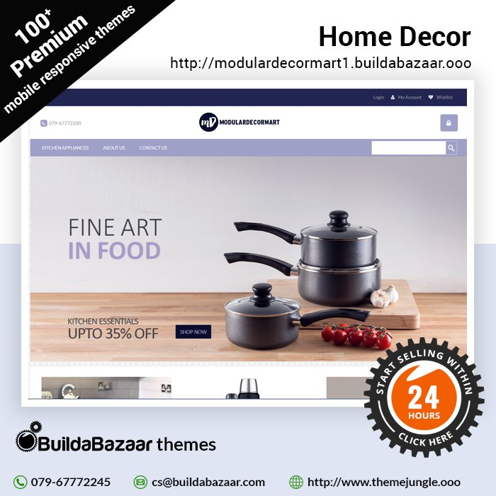 test Twitter Media - Open an online store in just 24 hours and start selling you home decors to your customers all around the world. #infibeam #buildabazaar #themejungle #buildabazaarthemes #ecomercethemes #websitethemes https://t.co/EBn1ze1cIl https://t.co/87feyWLfsd