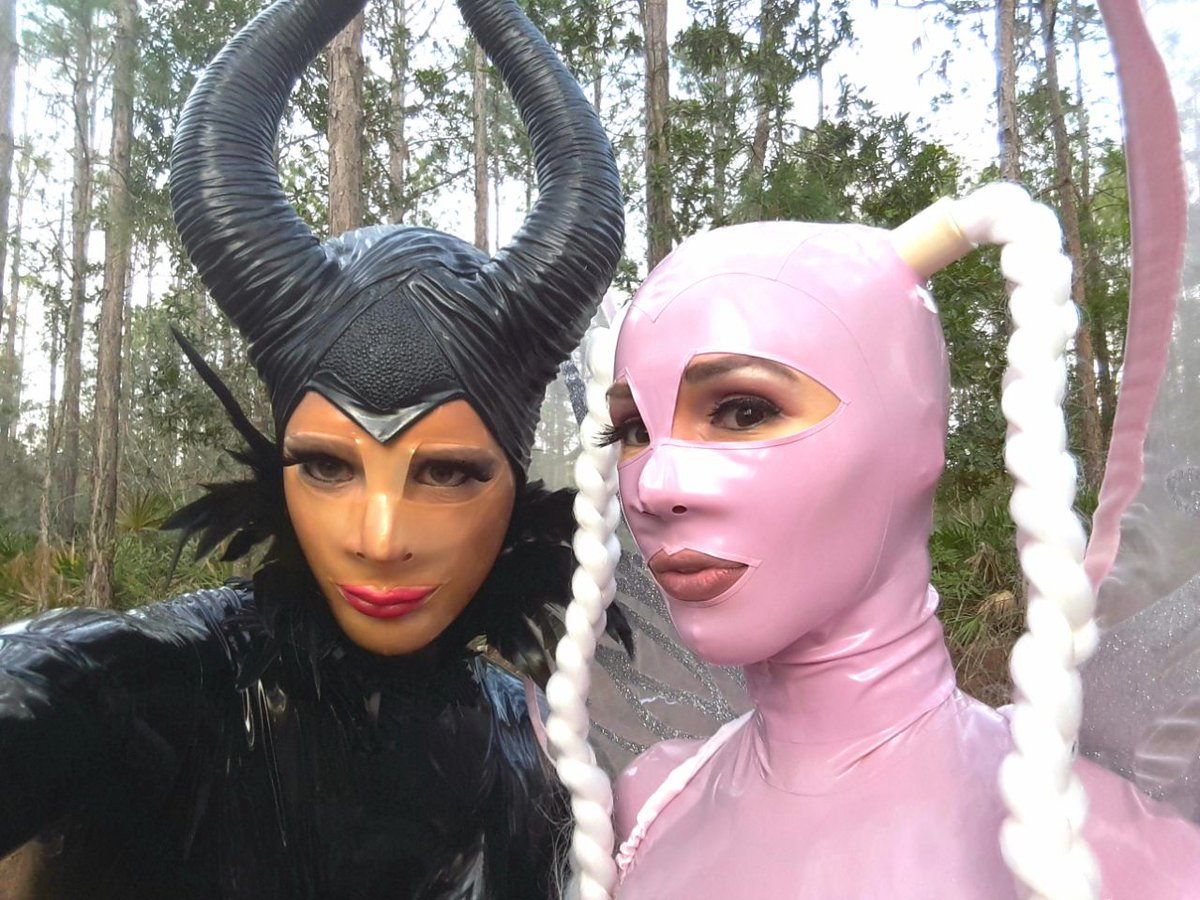 Leaficient and the lilac #Rubber Fairy in the forest 2vG0aBFwXI