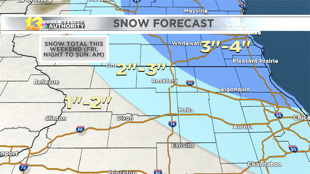 Wintry weekend results in a new blanket of snow