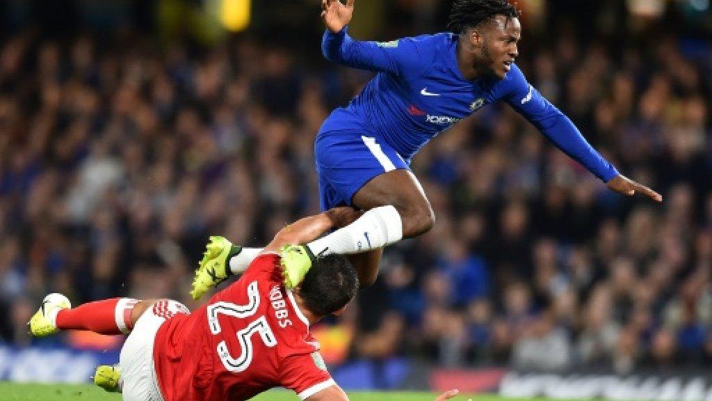 Dortmund opt for Batshuayi over Akanji in Europe