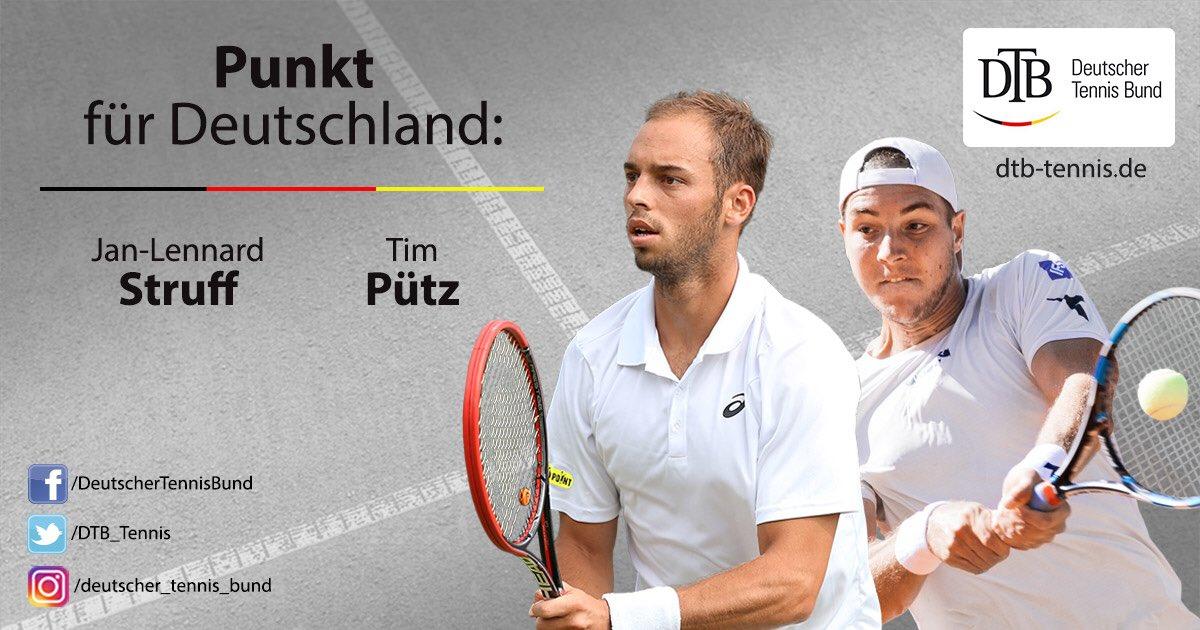 RT @DTB_Tennis: +++ Ein Wahnsinns-Sieg! 6:4, 6:7, 6:2, 6:7, 6:4! Deutschland vs. Australien 2:1! +++ #DavisCup https://t.co/fvTijJ3sRx