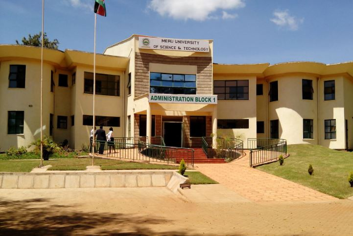 Meru University of Science and Technology has been shut down indefinitely