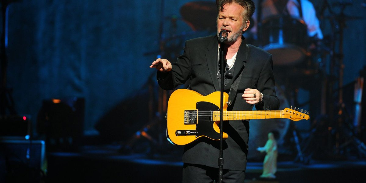 John Mellencamp takes a knee on 'Late Show' to protest racial inequality